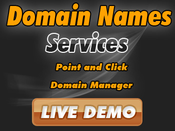 Moderately priced domain name registration services